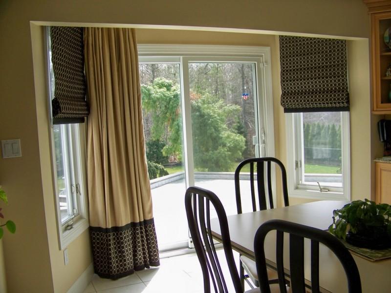 Patio Door Window Treatment for Your Gorgeous Home  Decohoms