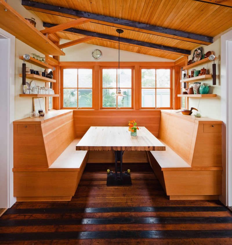 Booth Style Kitchen Table Ideas You Will Love Decohoms