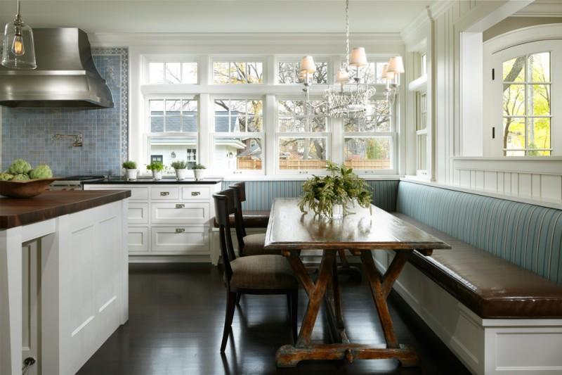 Small Kitchen Design Breakfast Nook