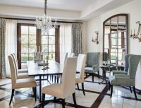 Creatively Arranged Decorative Mirrors for Dining Room ...