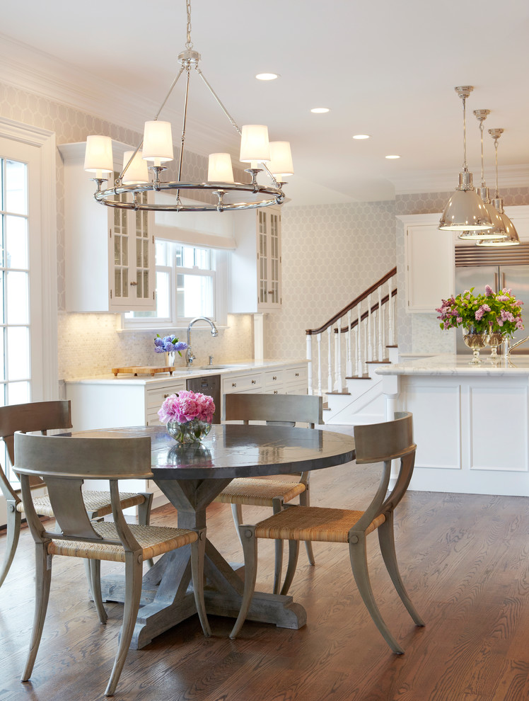 Matching Pendant Lights And Chandelier