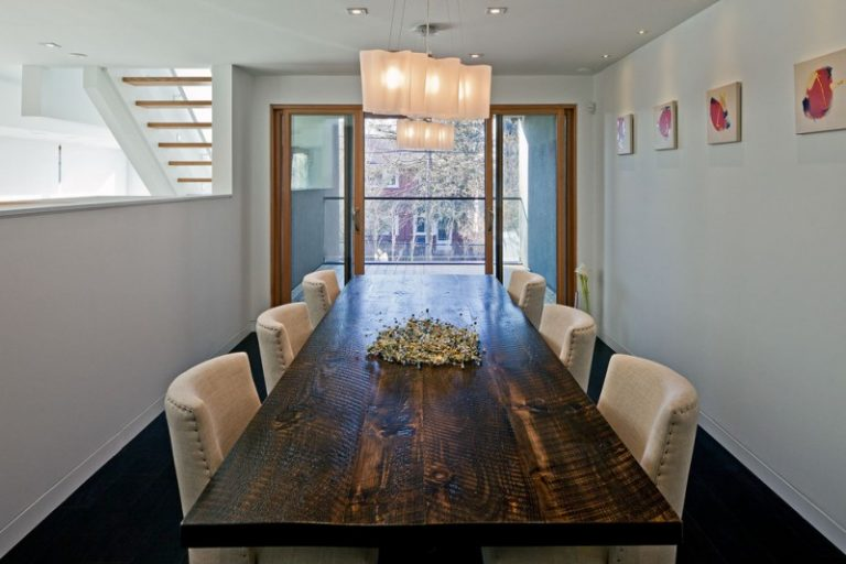 Awesome Narrow Dining Room Tables You Should Peek At Decohoms