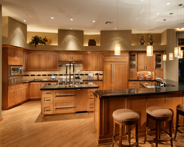 water efficient kitchen faucet southwest fancy and natural cherry cabinets | decohoms