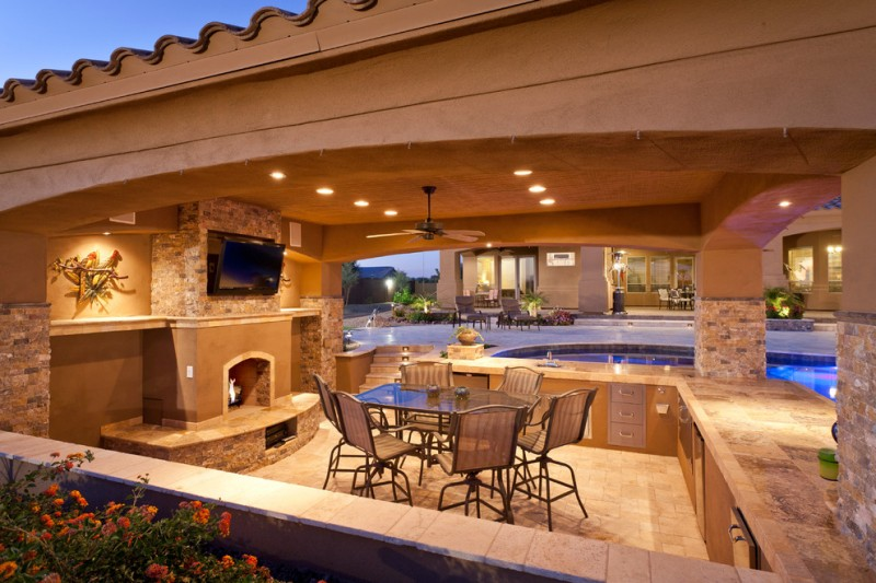 viking outdoor kitchen design cheap stunningly cool designs to be inspired by stone fireplace marble countertop pool chairs dining table stove cabinets island drawers ceiling