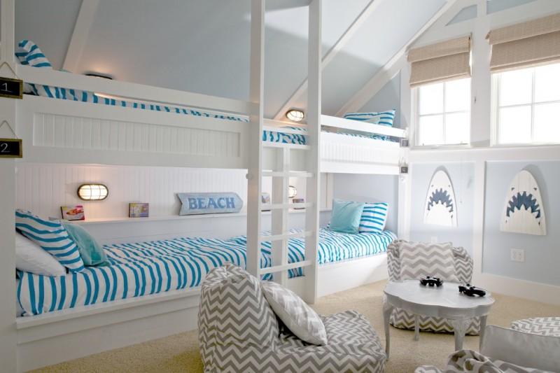 Beach Themed Room Decor Ideas for People who Love Nautical