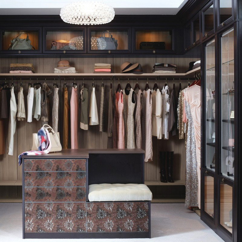 Amazing Big Walk in Closets to Draw Closet Design