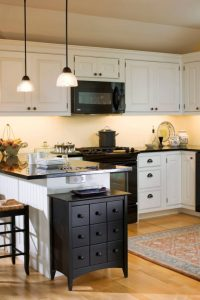 Irresistible Kitchen with Black Appliances Ideas | Decohoms