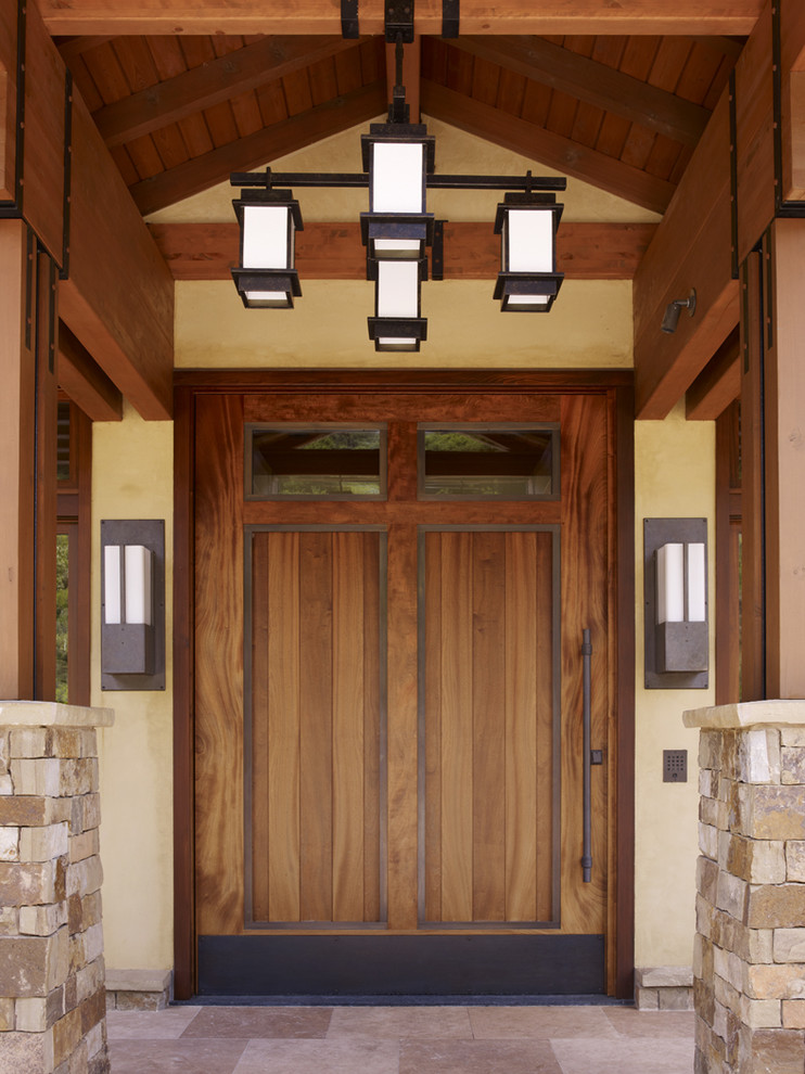 Elegantly Beautiful Craftsman Style Front Doors to be Amazed By  Decohoms