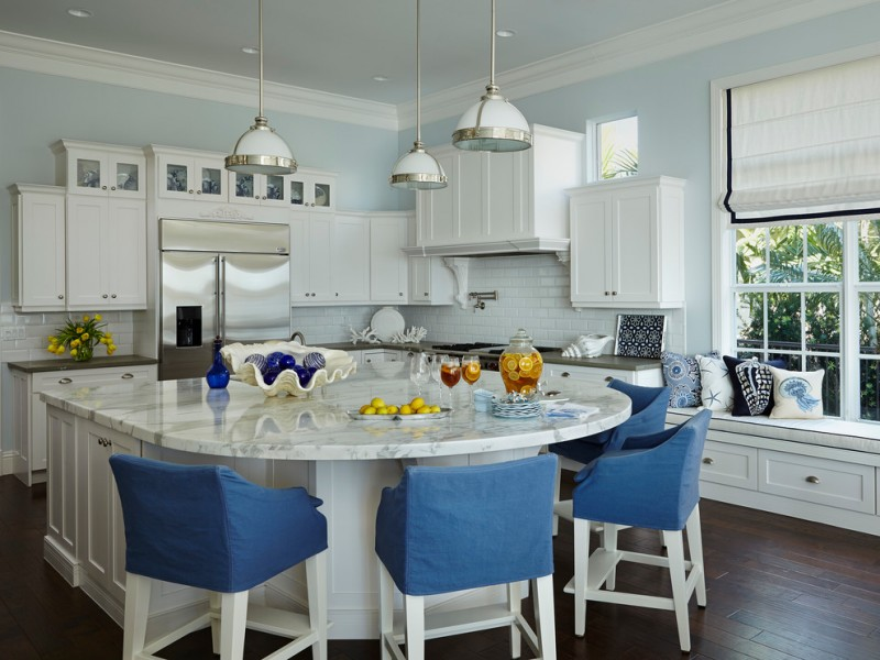 Fabulous Islands to See If You Want a Kitchen Island with Seating for 4  Decohoms