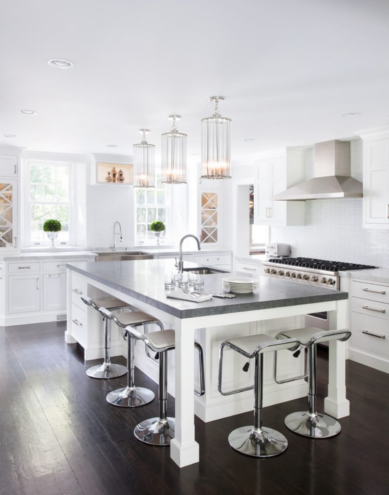 kitchen island seating hotels with kitchens in ocean city md fabulously cool large islands and storage dark floor modern chairs faucets sink chandeliers stove windows