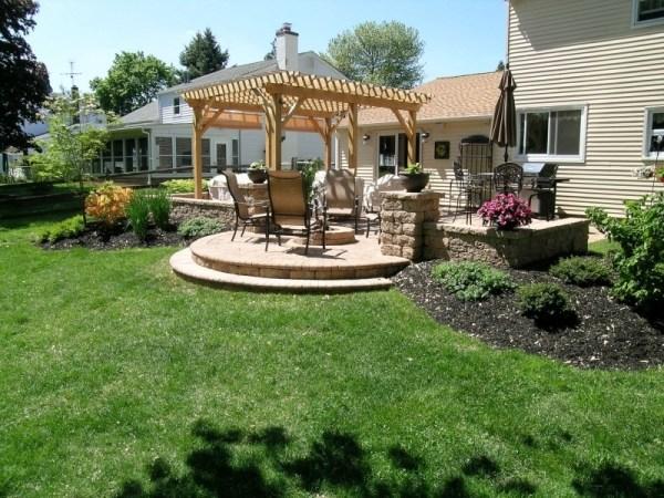 turn backyard inviting