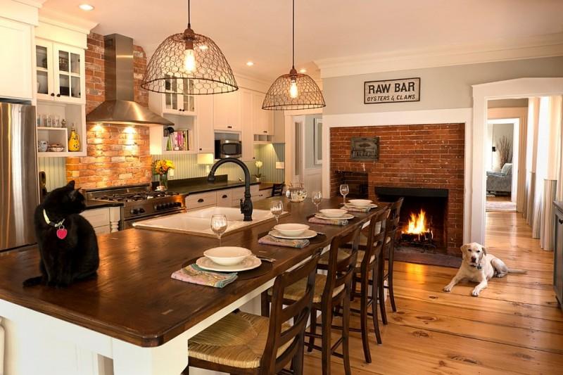 Brick Backsplash Plans For Striking Touch In Your Kitchen