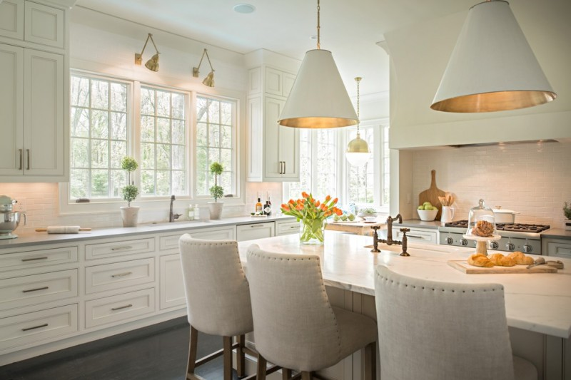 Pendant Light Ideas Over Kitchen Sink For Suffice Lighting In