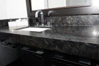 Heartening Black and White Granite Countertops | Decohoms