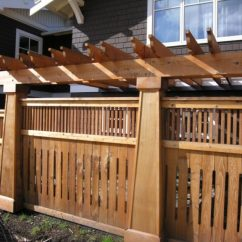Ideas For Wall Decorations Living Room Comfortable 10 Inspirational Of Craftsman Style Fence | Decohoms