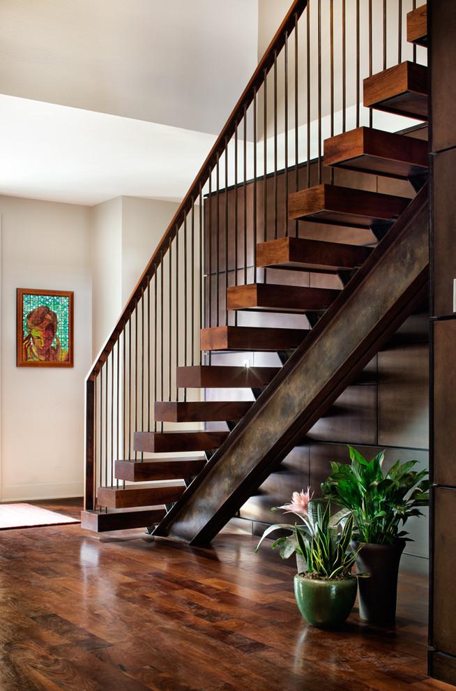 Cool Metal Stair Stringers To Get Stair Stringer Design