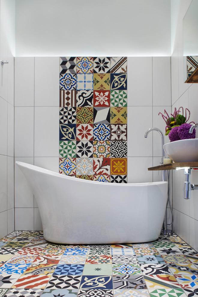 Unique Bathroom Floor Tile Ideas to Install for A More Inviting Bathroom  Decohoms