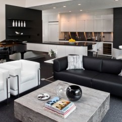 White Leather Accent Chair Modern Chicco High Recall Be Simple Yet With These Black And Living Room Sets   Decohoms