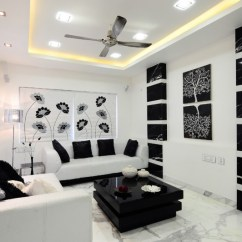 Best Living Room Accent Wall Colors Swivel Rocker Chairs For Be Simple Yet Modern With These Black And White ...