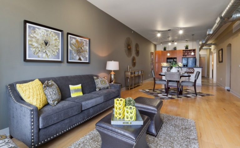 grey carpet in living room ideas with brown furniture dark gray couch for appealing | decohoms