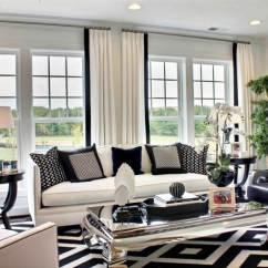 Black And White Living Room Furniture Ideas Ethan Allen Inspiring Decohoms Rug Sofa Armchair Armchairs