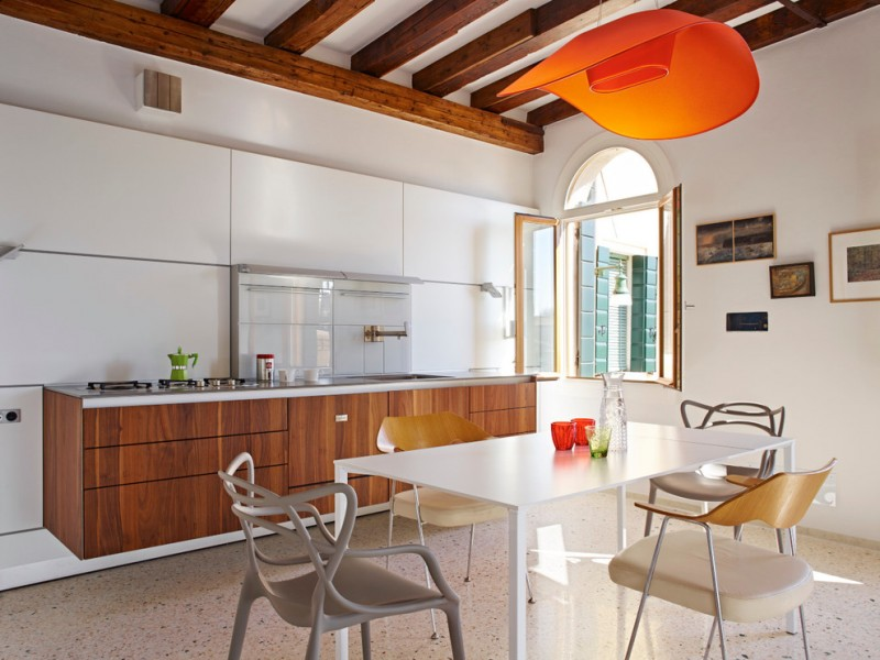 Intelligent Choices Of Floating Kitchen Cabinets For A Kitchen