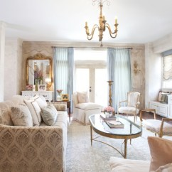 Slipcovers For Living Room Chair Folding Regina Spektor Lyrics Creating Classic Style Using Some Precious Beige Patterned Sofa Glass Coffee Table Area Rug Chandelier Gold Ornate Wall