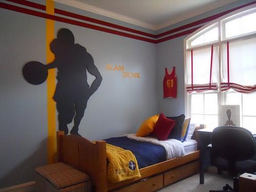 Baloncesto habitaciones juveniles  DECOIDEASNET