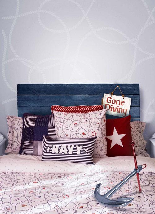 Cmo conseguir un dormitorio de estilo marinero para nios