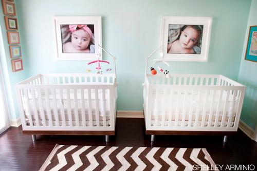 Ideas para decorar una habitacin de bebes gemelos