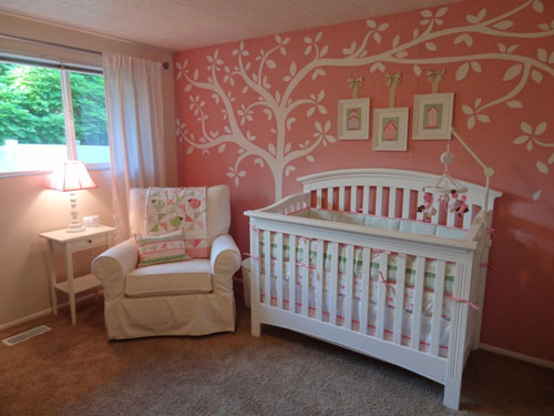 Como decorar una habitacin de beb nia