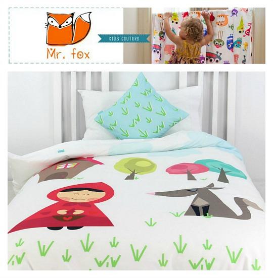 MrFox ropa de cama infantil  DECOIDEASNET