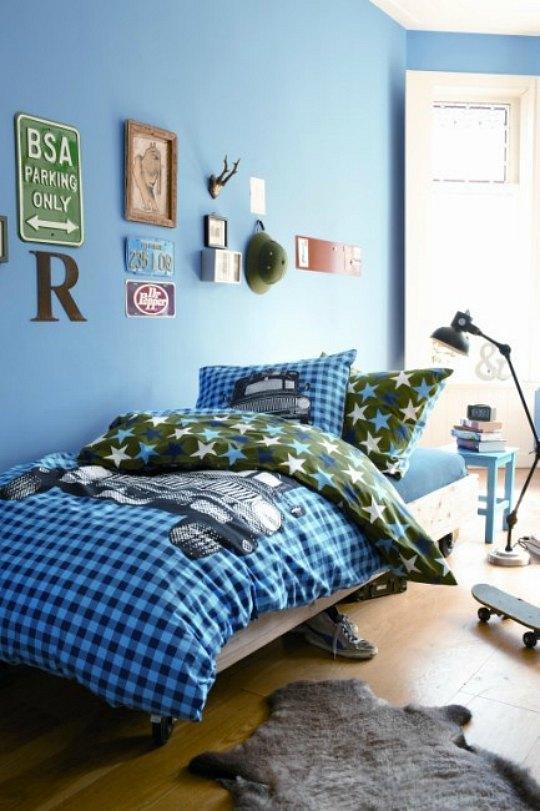 Diez habitaciones juveniles para chicos