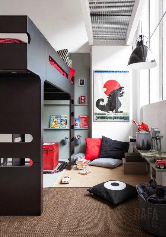 6 Ambientes juveniles para chicos