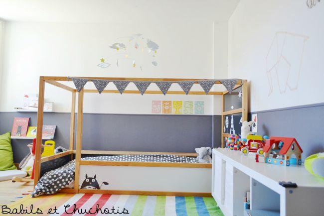 Un dormitorio infantil con muebles de Ikea  DecoideasNet