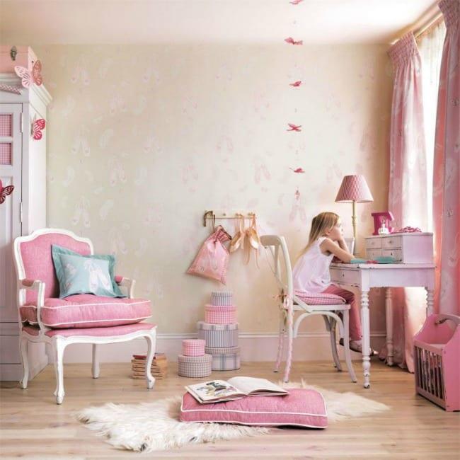 Habitaciones infantiles de Ballet