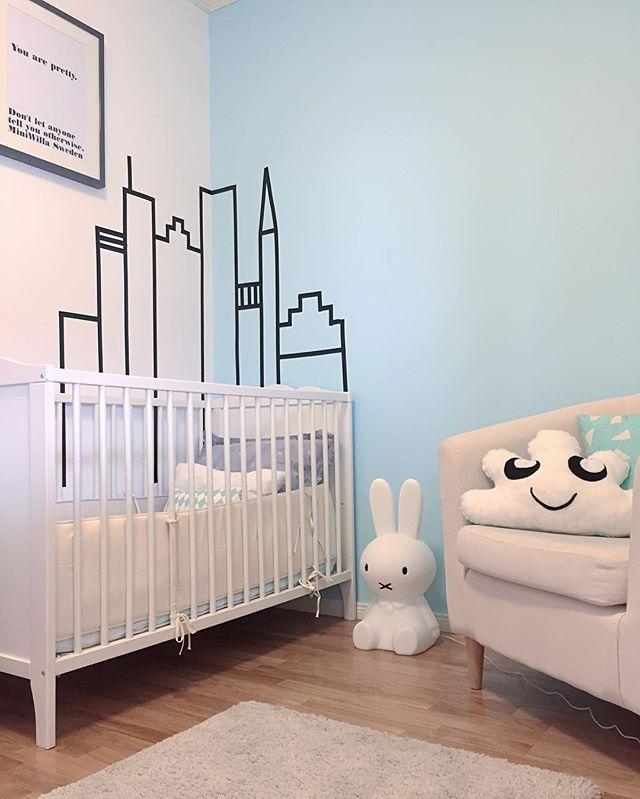 Ideas originales para la habitacin del beb