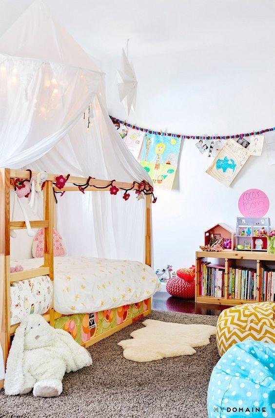 Ideas para personalizar tu cama Kura de Ikea