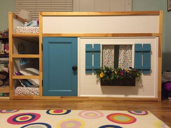 10 Ideas para personalizar tu cama Kura de Ikea