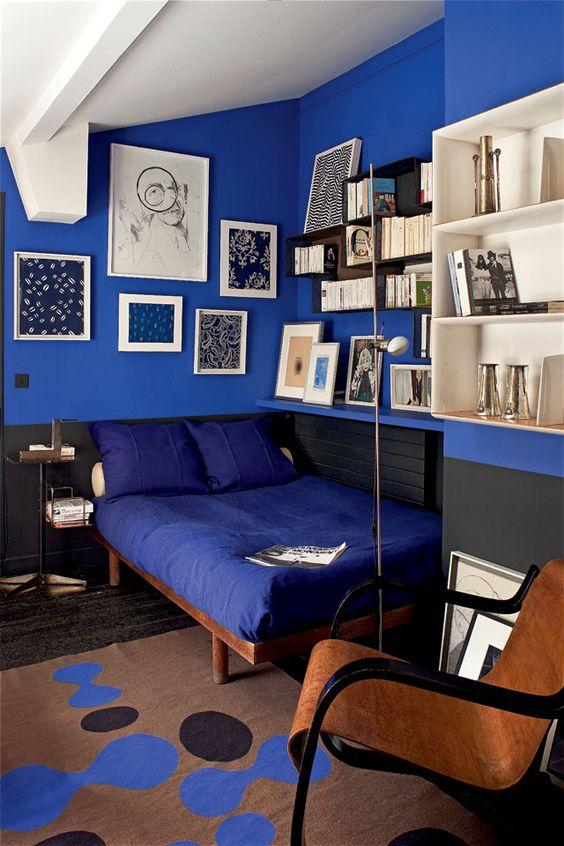 Habitacion Juvenil Azul Turquesa