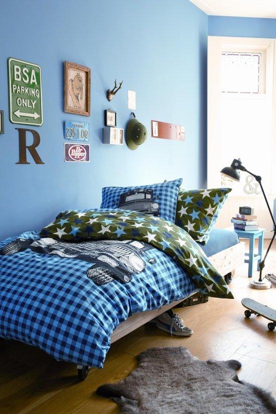 Habitaciones azules para jvenes  DECOIDEASNET