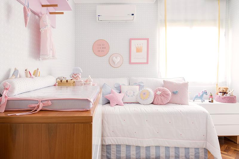 Habitacin de beb en colores pastel