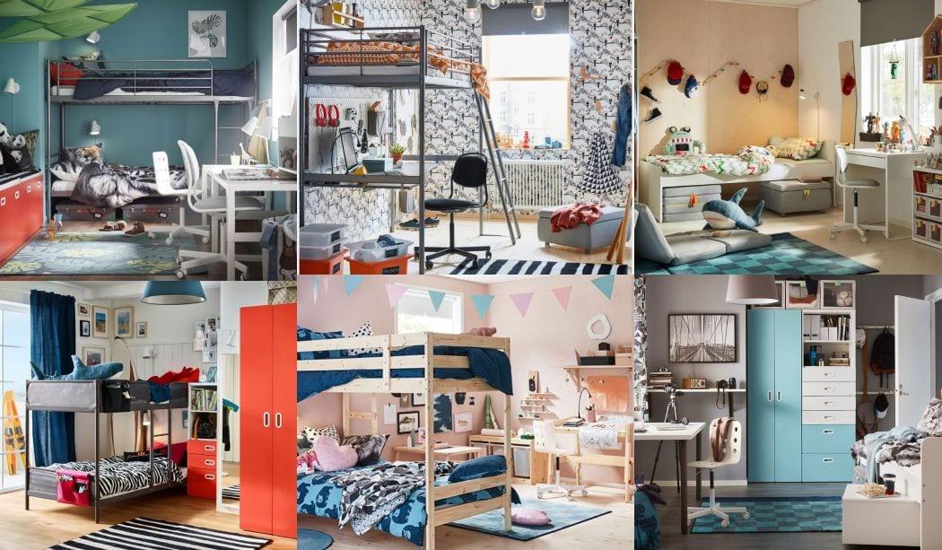 Inspiracin dormitorios juveniles Ikea 2018  2019 16 FOTOS