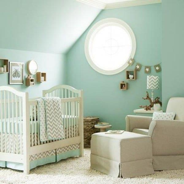 Verde mint para el cuarto del beb 22 FOTOS Decoideasnet