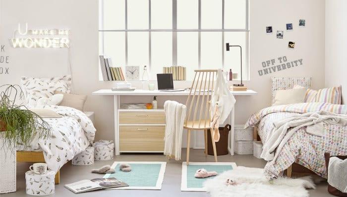 Decorar la habitacin para la Universidad con Zara Home