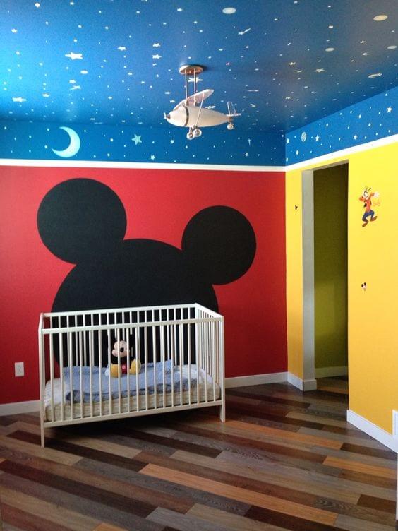 Habitaciones de Mickey Mouse con buenas ideas decorativas
