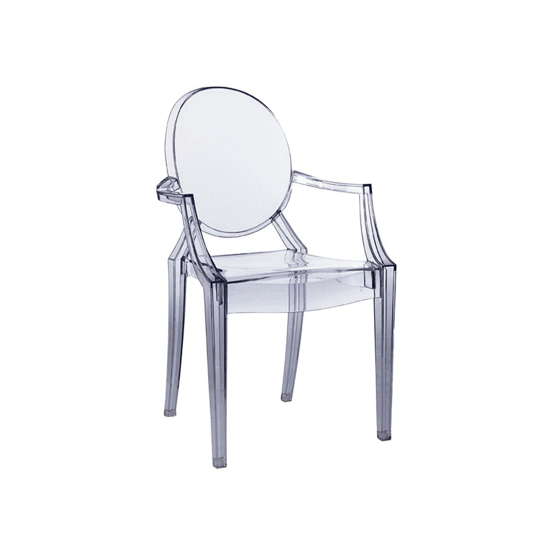 louis ghost chair monogrammed toddler chaise de kartell déco idées