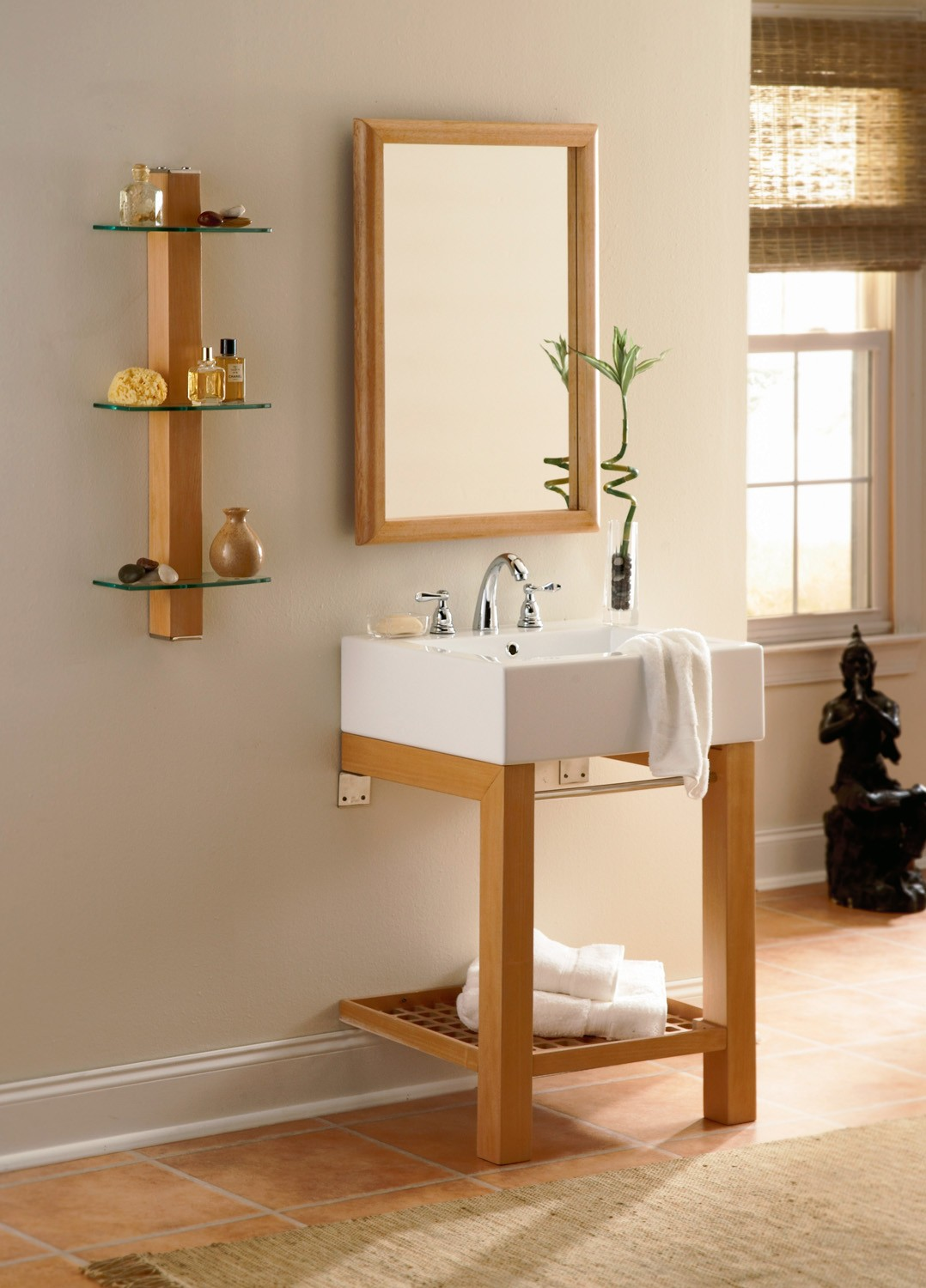DECOLAV 2550  Wall Mounted Lavatory Console With