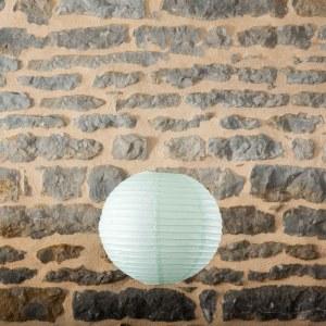 Location-Boule-chinoise-35cm-vert-clair-7exemplaires
