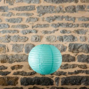 Location-Boule-chinoise-35cm-vert-turquoise-7exemplaires